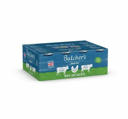 24 x 400g Butchers Tripe Loaf