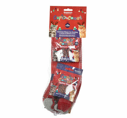 Rosewood Cupid & Comet Cat Christmas Stocking