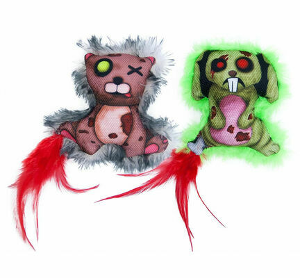 James & Steel Zombie Rabbit/Bear Cat Toy