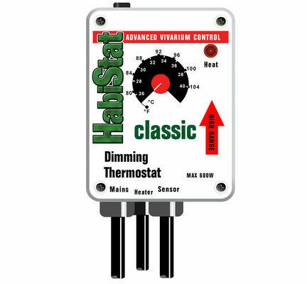 HabiStat Dimming Thermostat High Range White 600w