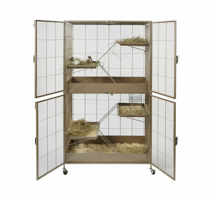 Sky Pet Products Little Zoo Venturer Complete Rodent Cage