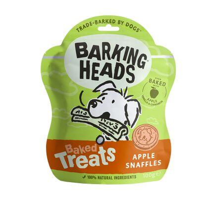 Barking Heads Baked Treats Apple Snaffles Dog Treats