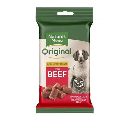 Natures Menu Real Meaty Beef Dog Treats