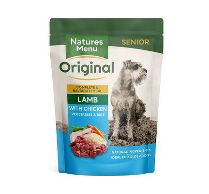 Natures Menu Lamb Wet Senior Dog Food