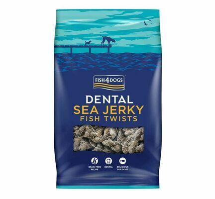 Fish4Dogs Sea Jerky Fish Twists Dog Treats