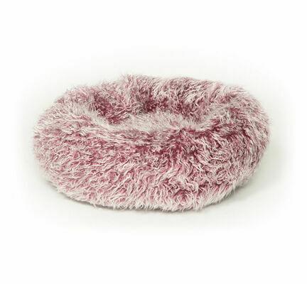 Danish Design Fluffies Purple Cushion Cat Bed