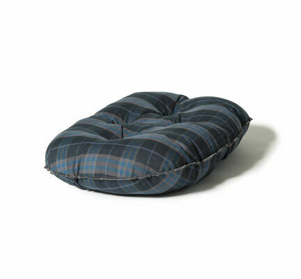 Danish Design Lumberjack Navy/Grey Quilted Dog Mattress
