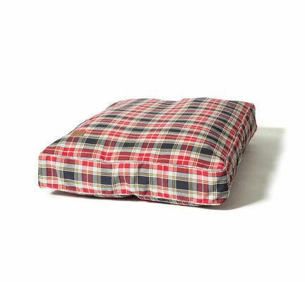 Danish Design Lumberjack Red/Grey Box Dog Duvet Cover