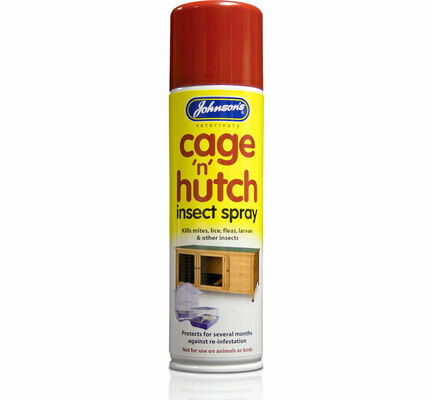 Johnson\'s Cage \'N\' Hutch Insect Spray 250ml