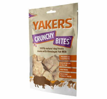 Yakers Crunchy Bites Natural Dog Treats