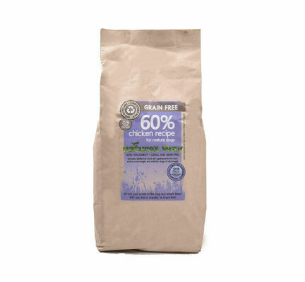 Nature's Way Grain Free Chicken Senior/Mature Dry Dog Food
