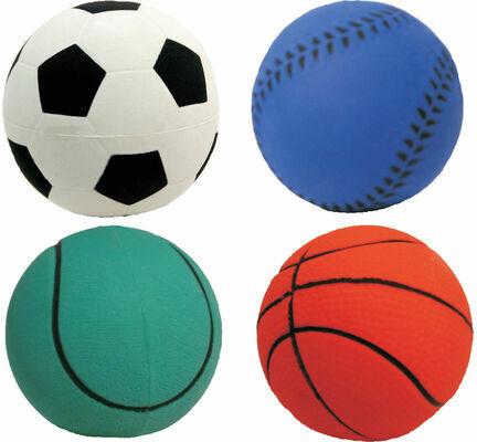 Assorted Sports Dog Ball