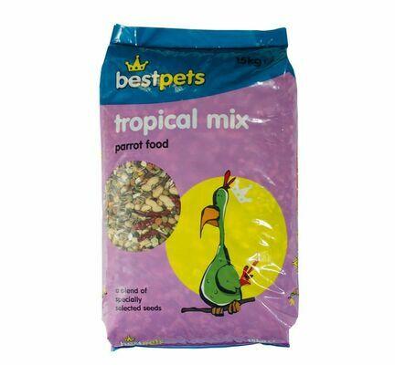 Bestpets Tropical Parrot Mix 15kg