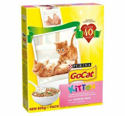 Go-Cat Kitten Chicken 825g