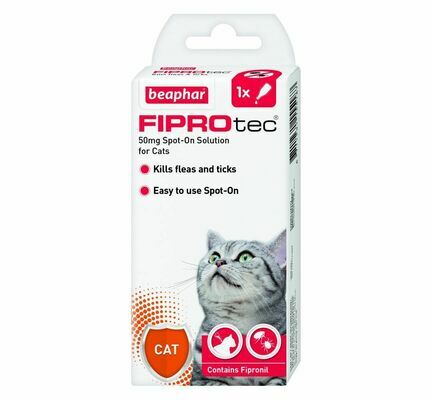 Beaphar FIPROtec Spot-On for Cats (1 x Treatment)