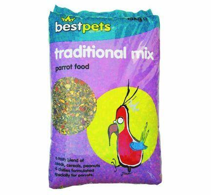 Bestpets Traditional Parrot Mix 15kg