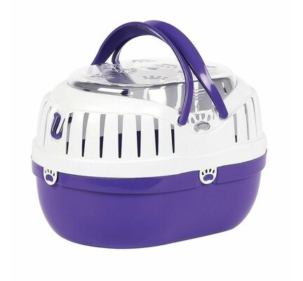 HappyPet Small Animal Carrier Purple