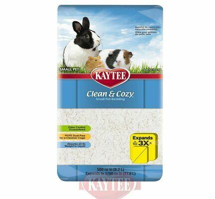 Kaytee Clean & Cozy Small Pet Bedding White