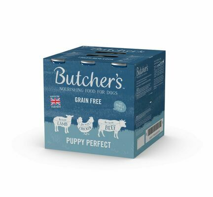 18 x Butchers Puppy Perfect Grain Free 400g