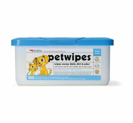 Petkin Pet Wipes (100 Pack)