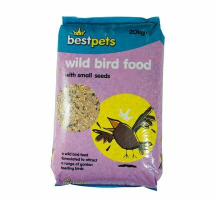 Bestpets Wild Bird Food With Small Seeds 20kg