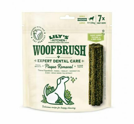 Lily's Kitchen Woofbrush Dog Dental Chew Treat