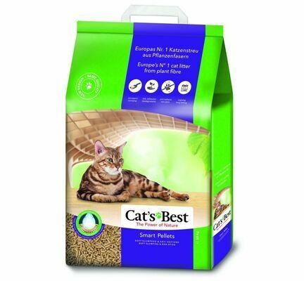 Cats Best Smart Pellet Clumping Wood Litter
