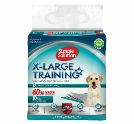 Simple Solution Puppy Training Pads Extra Large 10 Pads