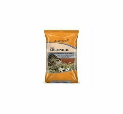 Marriage's Specialist Foods Quail Layers Pellets 7.5kg