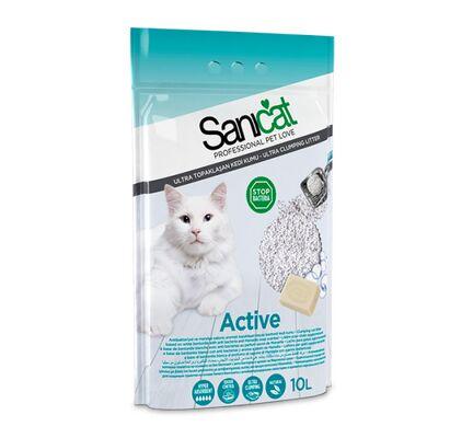 Sanicat Active Clumping Cat Litter 10L