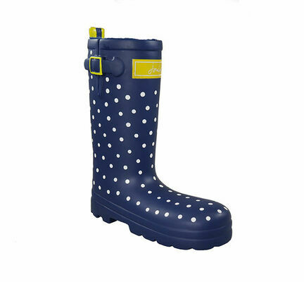 Joules Wellington Spotty Boot Dog Toy
