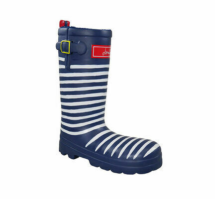Joules Wellington Stripe Boot Dog Toy
