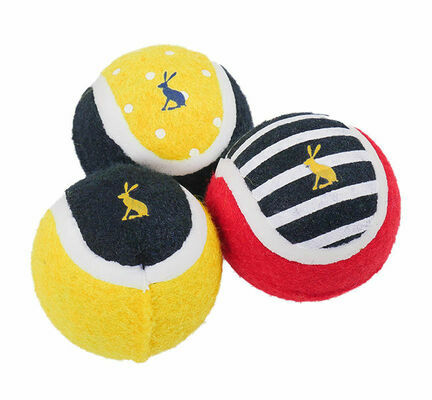 Joules Pack of 3 Tennis Balls Gift Bag
