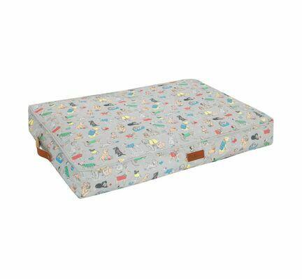 Cath Kidston Novelty Printed Memory Foam Mattress Dog Bed