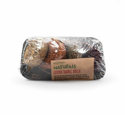 Rosewood Naturals Christmas Bauble Rolls 150g