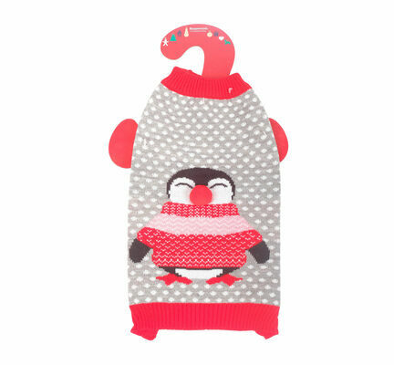 Rosewood Light Up Penguin Christmas Jumper For Dogs