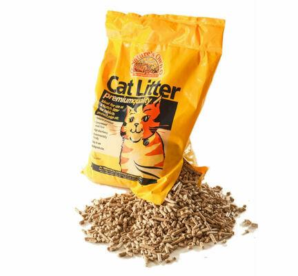 Nature's Own Premium Wood Pellet Dust Free Cat Litter