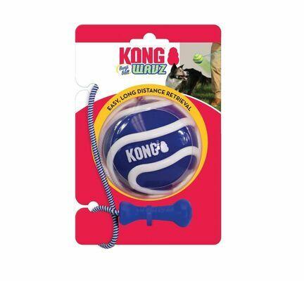 KONG Wavz Bunji Ball Assorted Dog Toy