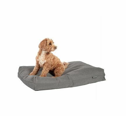 Danish Design Antibacterial Dog Bed in Grey