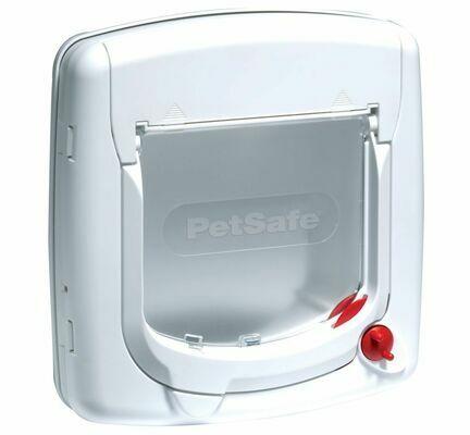 PetSafe Staywell 4 Way Lock Cat Flap White