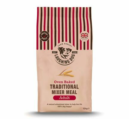 Laughing Dog Traditional Mixer Meal Terrier Dog Mixer 15kg
