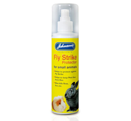 6 x Johnson's Small Animal Fly Strike Protector Pump Spray 150ml