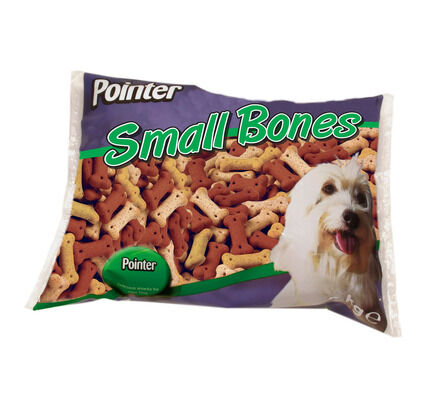 Pointer Assorted Small Bones - 2kg