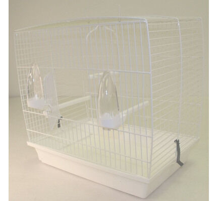 Pennine Andalusian Bird Cage White 42.5x25x40cm
