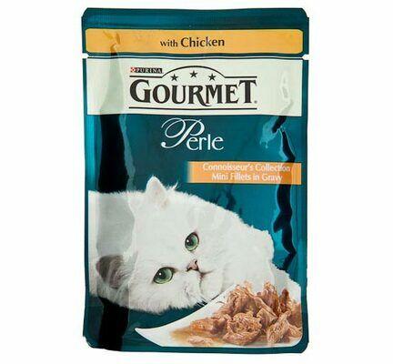 24 x Gourmet Perle Pouch Chicken 85g