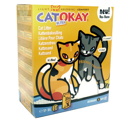 Catokay Ultra Cat Litter - 1.5kg