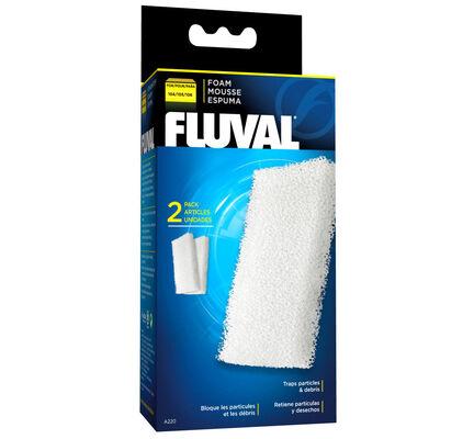Fluval 105 Foam Filter Block 2pack