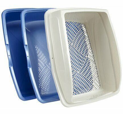 Van Ness Sifting Cat Litter Tray with Frame