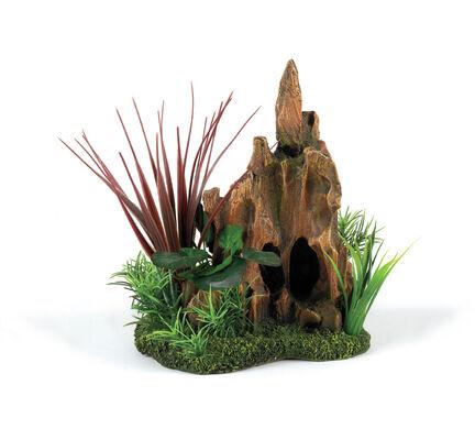 Classic Driftwood Delights Stump Pinnacle Garden 210mm