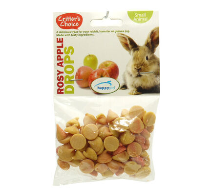 6 x Critter's Choice Rosy Apple Drops 75g
